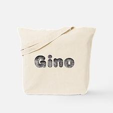 Gino Wolf Tote Bag