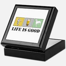 Life Is Good Keepsake Box