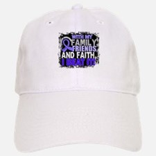 Esophageal Cancer Survivor FamilyFriendsFaith Baseball Baseball Cap