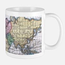Vintage Map of The World (1780) Mugs