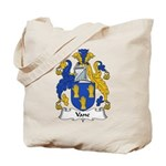 Vane Family Crest Tote Bag
