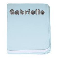 Gabrielle Wolf baby blanket