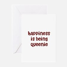 happiness is being Queenie Greeting Cards (Pk of 1