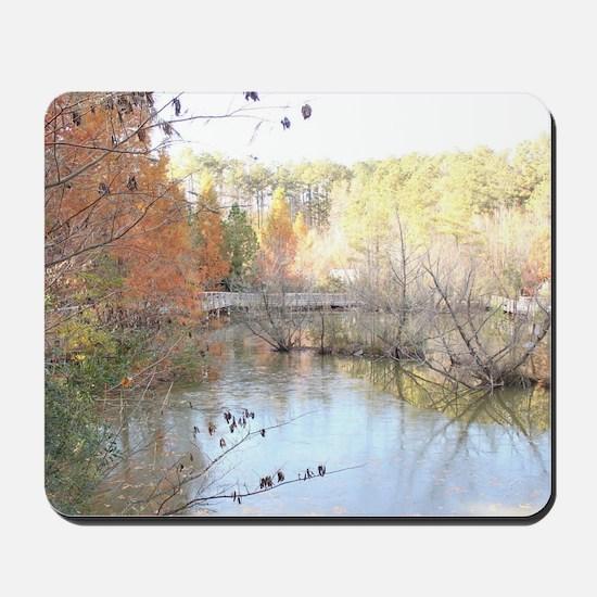 Skies Across the Pond Mousepad