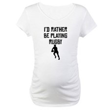 Id Rather Be Playing Rugby Shirt