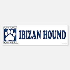IBIZAN HOUND Bumper Bumper Bumper Sticker