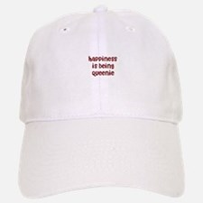 happiness is being Queenie Baseball Baseball Cap