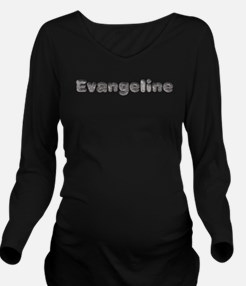 Evangeline Wolf Long Sleeve Maternity T-Shirt