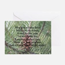 Irish Christmas Blessing Greeting Card