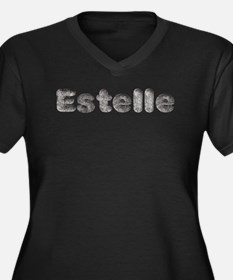 Estelle Wolf Plus Size T-Shirt