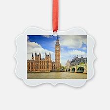 London Bridge And Big Ben Ornament