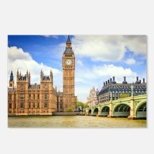 London Bridge And Big Ben Postcards (Package of 8)