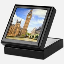 London Bridge And Big Ben Keepsake Box