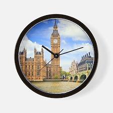 London Bridge And Big Ben Wall Clock