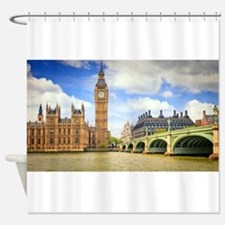 London Bridge And Big Ben Shower Curtain