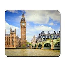 London Bridge And Big Ben Mousepad
