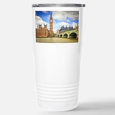 London Bridge And Big Ben Travel Mug