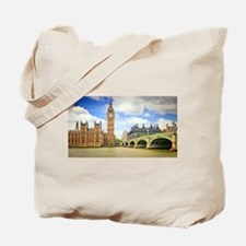 London Bridge And Big Ben Tote Bag