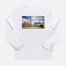 London Bridge And Big Ben Long Sleeve T-Shirt