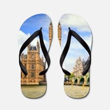 London Bridge And Big Ben Flip Flops