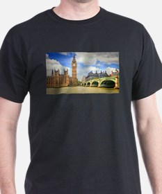 London Bridge And Big Ben T-Shirt
