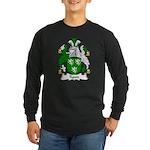 Tyson Family Crest Long Sleeve Dark T-Shirt