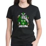 Tyson Family Crest Women's Dark T-Shirt