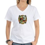 Vintage Witch Women's V-Neck T-Shirt