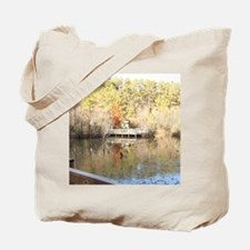 Reflective Winter Days Tote Bag