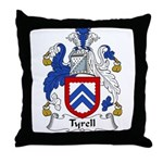 Tyrell Family Crest Throw Pillow