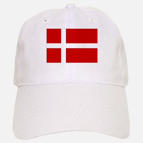 Danish Flag Baseball Baseball Cap