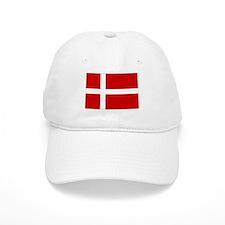 Danish Flag Baseball Cap