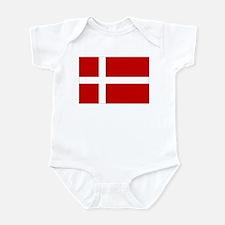 Danish Flag Infant Bodysuit