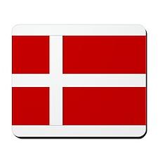 Danish Flag Mousepad
