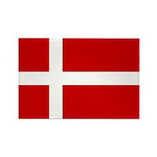 Danish Flag Rectangle Magnet
