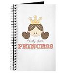 Daddy's Princess Pink Brown Journal