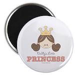 Daddy's Princess Pink Brown Magnet