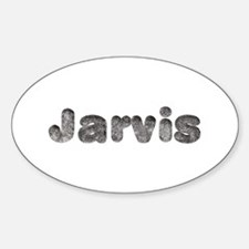 Jarvis Wolf Oval Decal