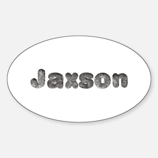 Jaxson Wolf Oval Decal