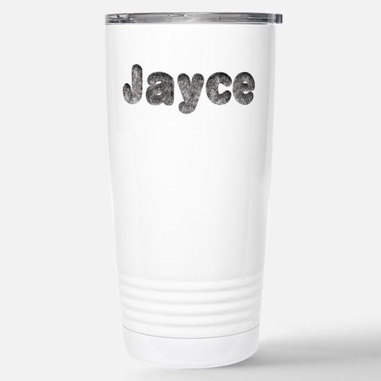 Jayce Wolf Ceramic Travel Mug