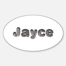 Jayce Wolf Oval Decal