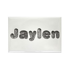 Jaylen Wolf Rectangle Magnet