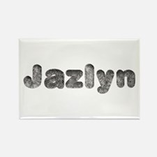 Jazlyn Wolf Rectangle Magnet