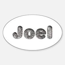 Joel Wolf Oval Decal