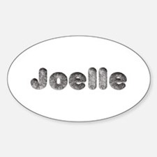 Joelle Wolf Oval Decal