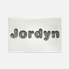 Jordyn Wolf Rectangle Magnet