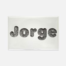 Jorge Wolf Rectangle Magnet