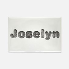Joselyn Wolf Rectangle Magnet
