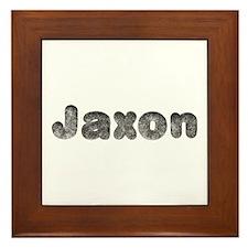 Jaxon Wolf Framed Tile