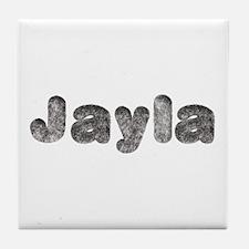 Jayla Wolf Tile Coaster